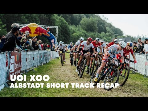 UCI MTB 2018: Short track kick-off at the women's XCO race in Albstadt.