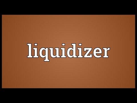 Header of liquidizer