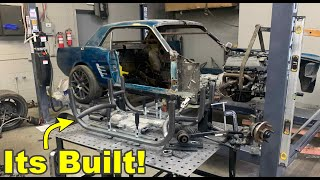 Building a Custom Tube Subframe For My Coyote Swapped 1965 Mustang GT