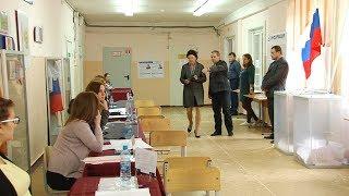 Елена Авдеева голосует