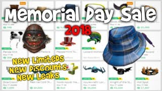 ROBLOX Memorial Day Vente 2018 - Underwhelming?