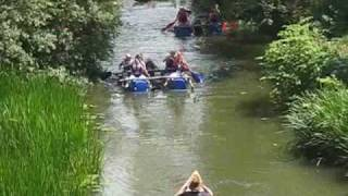 Yalding raft race 2009