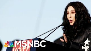 Cher On President Donald Trump: I Don't Understand How We're America Anymore | Hardball | MSNBC