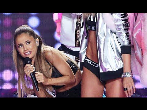 Видео: Ariana Grande Golpeada en el Desfile de Victorias Secret