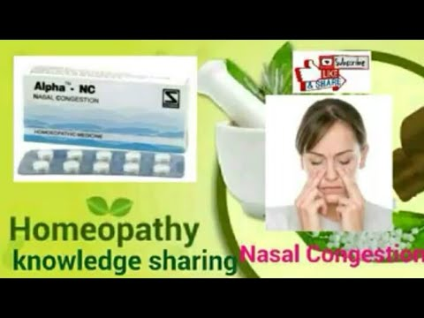 Homeopathic medicine for allergy rhinitis sinusitis and nasal congestion.