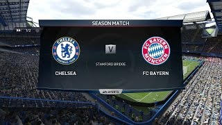 (PS4/Xbox One) FIFA 15 | Chelsea FC  vs Bayern Munich - Full Online Gameplay (1080p HD)