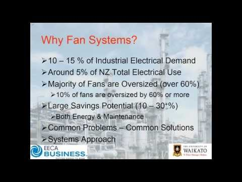 Webinar: Industrial Fan Systems Assessment for Energy Reduction – Getting Started