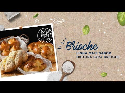 Brioche — Linha Mais Sabor Mistura para Brioche