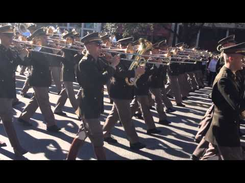 Texas Aggie Honor Band at Governor's Inauguration