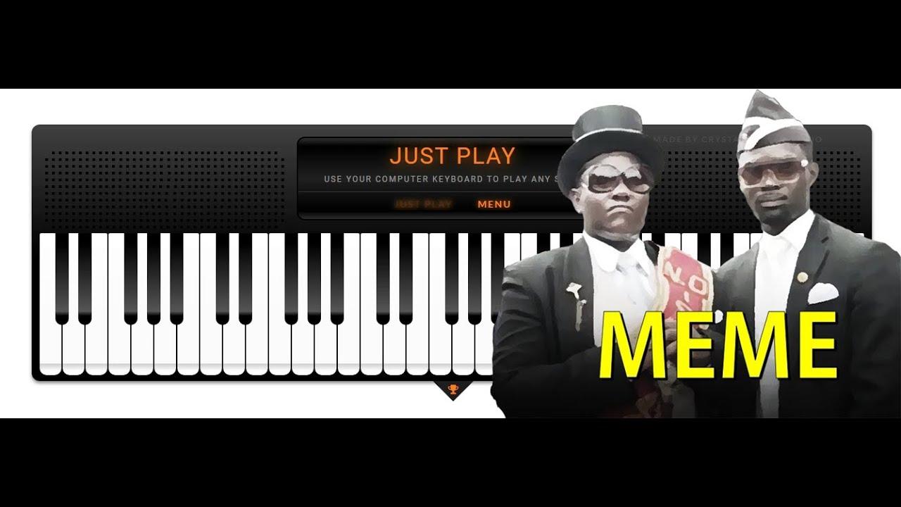 Coffin Dance Virtual Piano Sheets Youtube