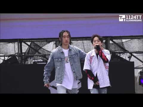 170408 힙합플레이야페스티벌2017 - 김효은,창모,Hash Swan 'AMBITION  '