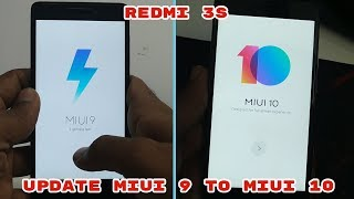 REDMI 3S PRIME UPDATE MIUI 9 TO MIUI 10 OFFICAIL ROM NO ROOT WITHOUT UNCLOK BOOTLOADER