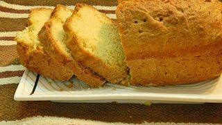 Eggless Yeast Free Bread  (without Kneading)  Instant Bread Recipe By Khana Manpasand