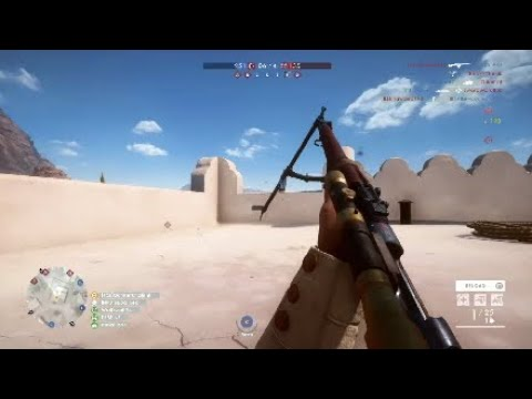 Battlefield 1 m1903 long headshot - 545 meters