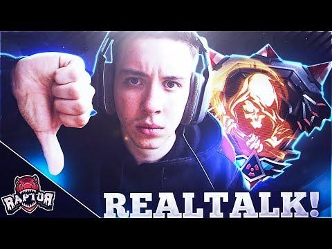 ICH BIN KEIN GAMEPLAYERSPIELER!! | Realtalk | Raptor