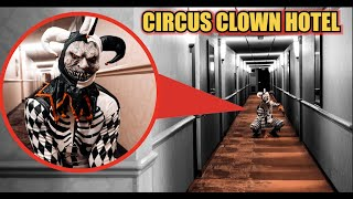 Our Unexplained Night at Circus Clown Hotel! (Clowns are living inside Room 666)