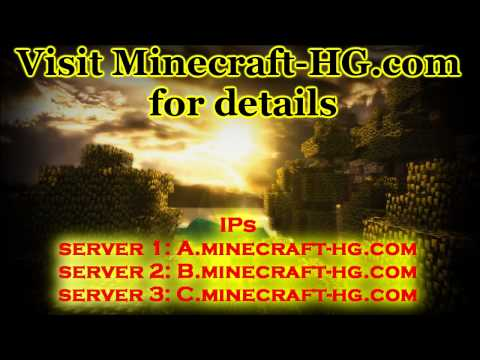 Minecraft - Hunger Games Servers! (24/7)