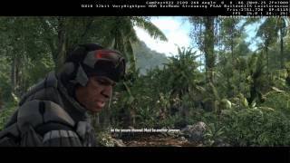 CRYSIS GTX580 16XQ VERY HIGH 1080P PART 1