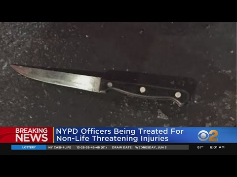 NYPD: Officers Shot, Stabbed In Brooklyn Expected To Survive