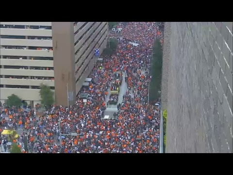 EarthCam Live: Houston Astros Victory Parade