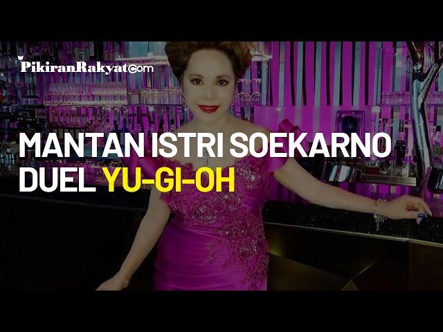 Sedang Diperbincangkan di Jepang, Video Mantan Istri Presiden Soekarno Duel Yu Gi Oh