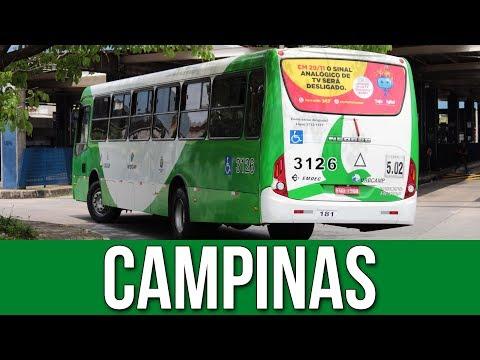 Movimentação de Ônibus #80 - Terminal Metropolitano Magalhães Teixeira (Campinas)