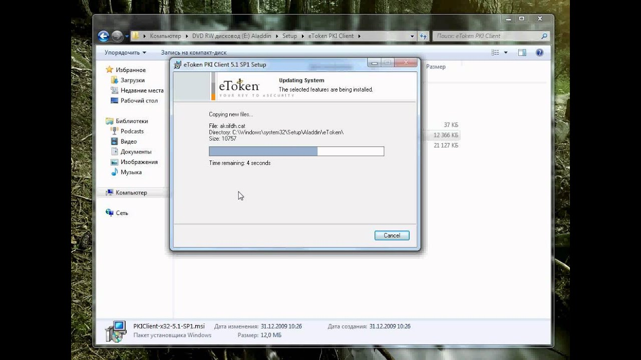ALADDIN ETOKEN PKI CLIENT DRIVER FOR WINDOWS 8