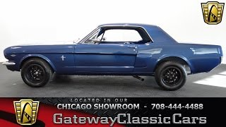1965 Ford Mustang Gateway Classic Cars Chicago #1103