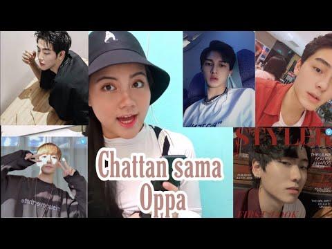 Aplikasi Chat Sama Oppa Korea Gratis + Bukti Chat    No Clickbait