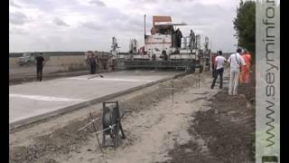Бетон вместо асфальта(Одна из грунтовых дорог, соединяющая Суджанский и Глушковский районы, станет бетонной. Все это благодаря..., 2012-09-03T07:43:57.000Z)