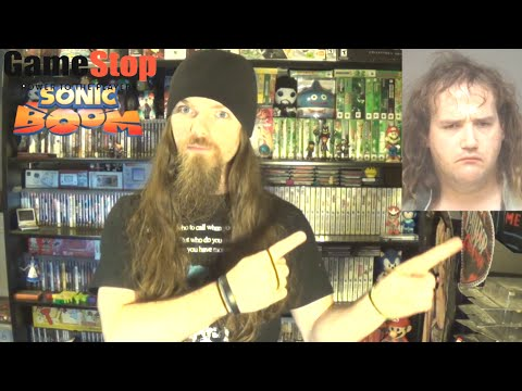 Thumbnail: Chris Chan Maces Gamestop Employee & Defaces Sonic Boom Display