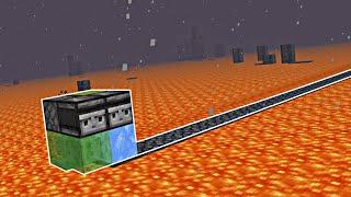 ПРОСТОЙ Авто-Мост Для Путешествий по АДУ!   Minecraft Bedrock Edition   Майнкрафт Пе 1.16.201  