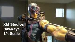 XM Studios Hawkeye 1/4 Scale Review