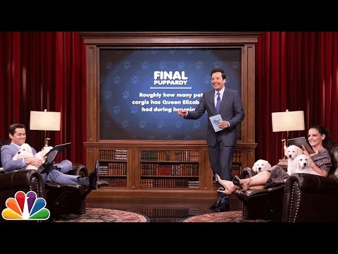 Pup Quiz with Katie Holmes and Andrew Rannells