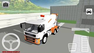 Concrete Mixer Simulator - New Cement Mixer Truck City Building Android GamePlay FHD