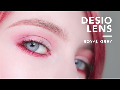 Trying Jeffree Star's Contact Lenses | Desio Lens Review