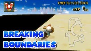 Mario Kart Wii - Breaking Boundaries Montage! (Cheat Codes)