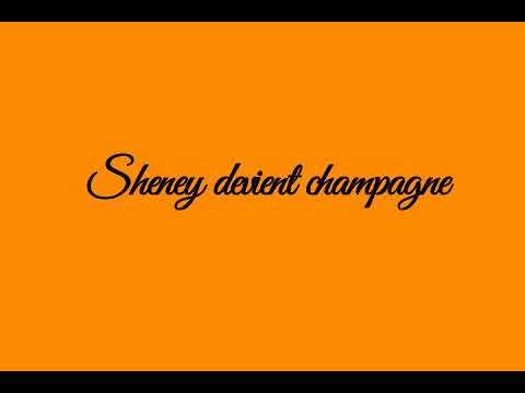 ariel sheney devient champagne