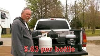 Refill 1lb Propane Bottles