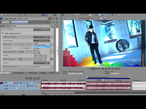 Create Audio-Driven Effects in Sony Vegas Pro with Beat Reactor