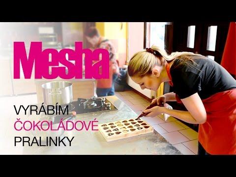 Vyrábím čokoládové pralinky | Mesha Vlog