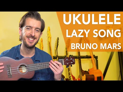 UKE - The Lazy Song Bruno Mars // EASY Ukulele Songs For Beginners