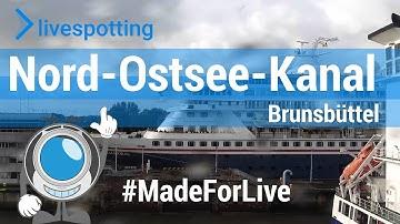 Neue Webcam am Nord-Ostsee-Kanal Brunsbüttel