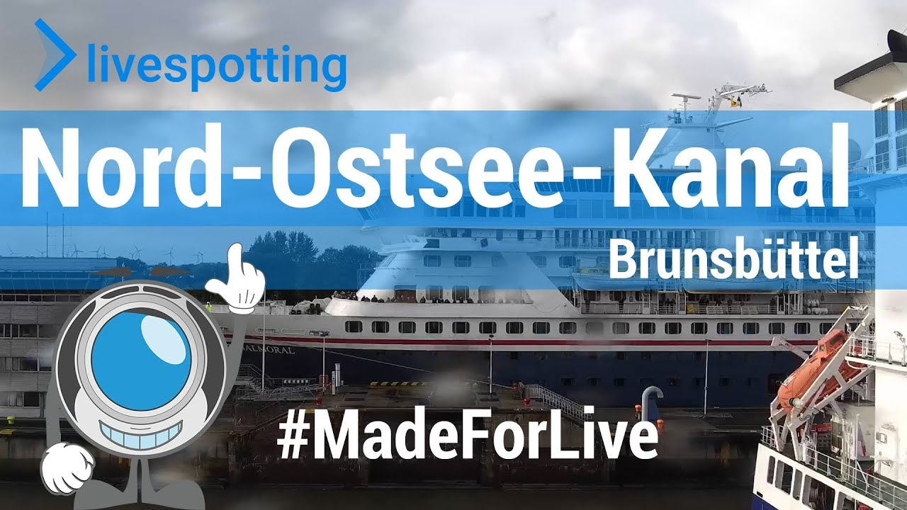 Webcam Nord Ostsee Kanal