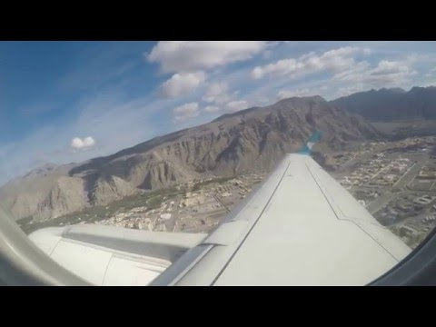 Oman Air flight from Khasab (KHS) to Muscat (MCT)