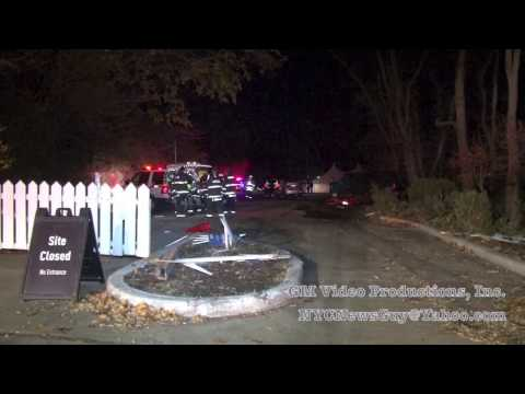 Police pusuit/crash in  Croton On Hudson