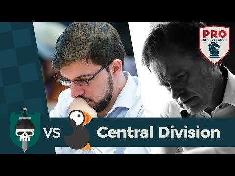 2018 PRO Chess League: Round 1 | Central Division