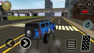 पुलिस चेस प्राडो एस्केप प्लान / पुलिस कार गेम्स / Android गेमप्ले FHD screenshot 2