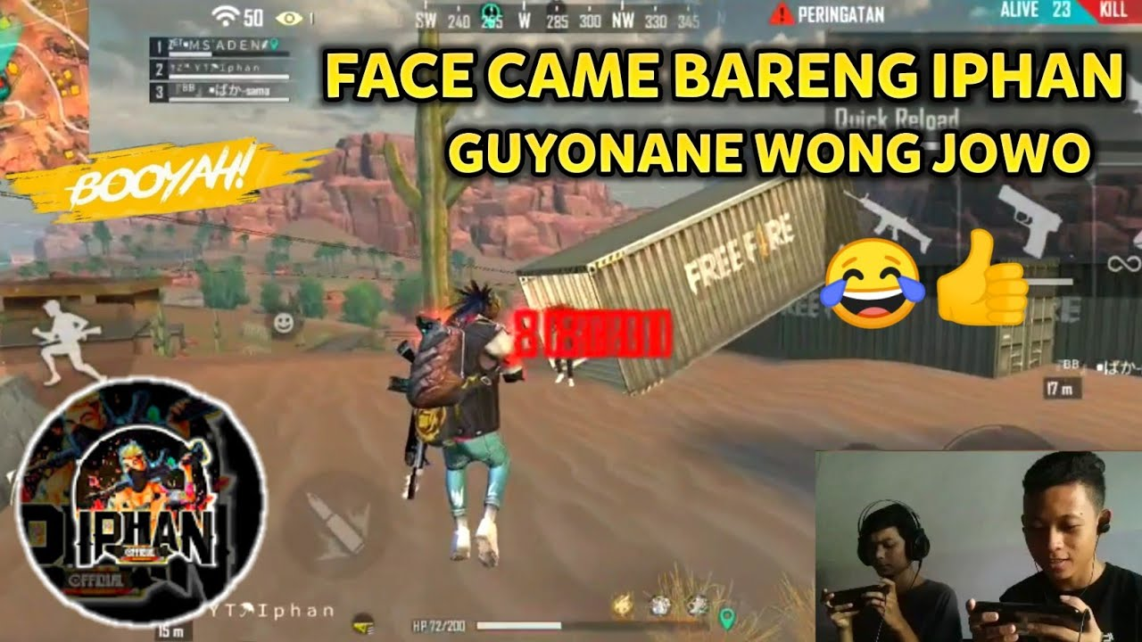 I'MM BACK AGAIN !! MABAR BARENG IPHAN SAMBIL FACE CAME! UNBOXING KALAHARI - Garena Free Fire