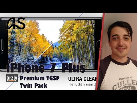 Apple iPhone 7: Orzly Twin Pack TGSP Application & Case Test (Orzly, Ringke)